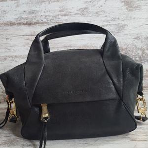 ⚄Aimee Kestenberg Charcoal Black Leather